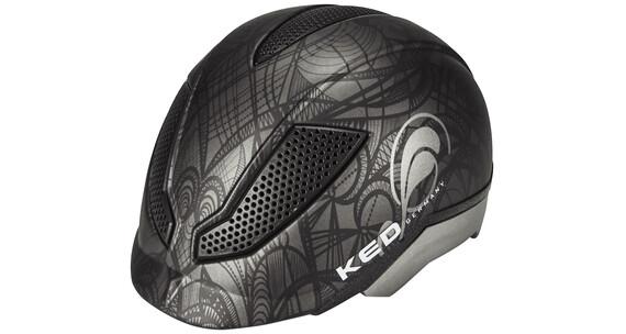 KED Pina Helmet black anthr. matt